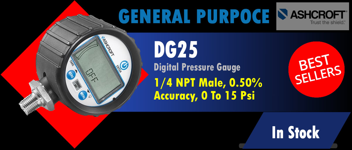 Ascroft DG25 Digital Pressure Gauge