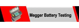 Megger Battery Testing