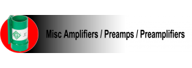 Misc Amplifiers / Preamps / Preamplifiers