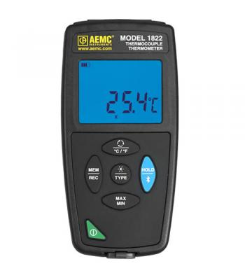 AEMC 1822 [2121.75] Datalogger Thermocouple Thermometer