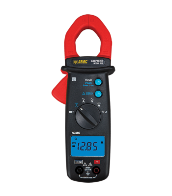 AEMC 505 [2139.82]  400AAC/DC, 600VAC/DC TRMS Clamp On Meter, Ohms, Continuity