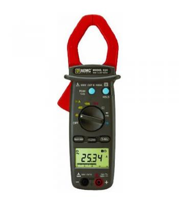 AEMC 514 [2117.70] 1000A AC / DC, 600V AC / DC TRMS Professional Clamp-On Meter