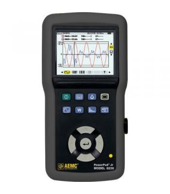 AEMC 8230 [2130.81] PowerPad Jr True RMS Power Quality Analyzer, Single Phase