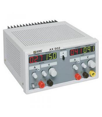 AEMC AX502 (2130.06) Power Supply (Dual Output, 0-25A, 0-30VDC)