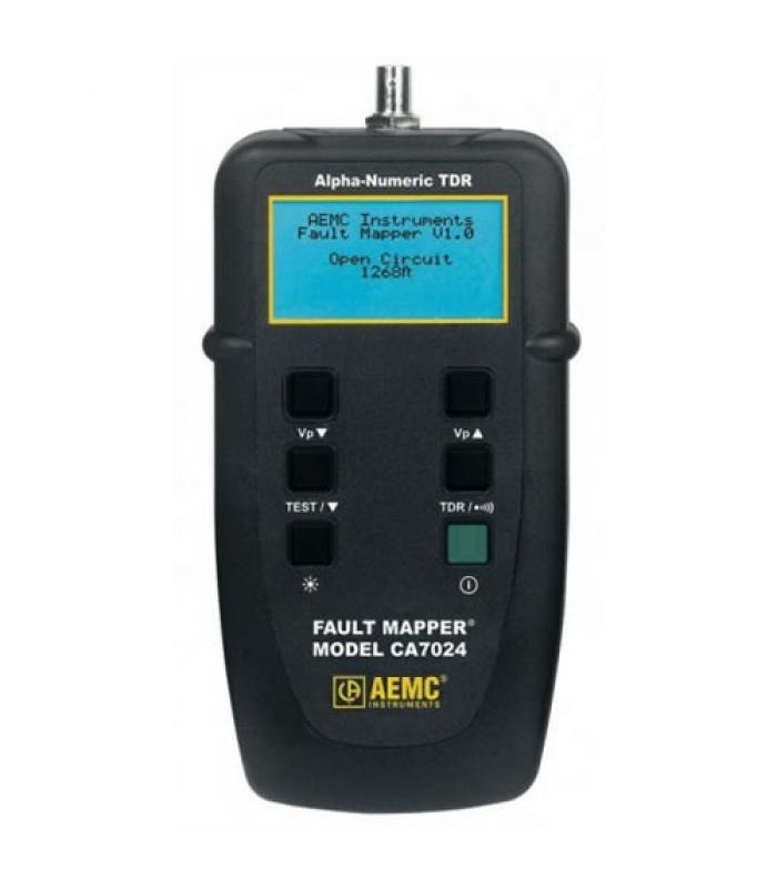 AEMC CA7024 [2127.80] Fault Mapper Cable Length/Fault Tester with Alpha-Numeric TDR