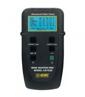 AEMC CA7028 [2127.82] Wire Mapper Pro LAN Cable Tester