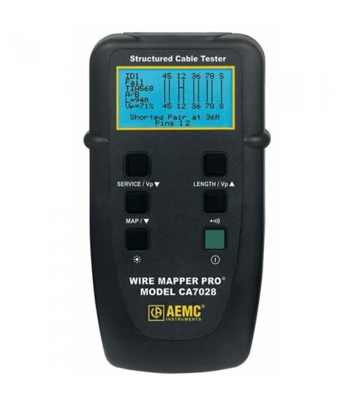 AEMC CA7028 [2127.82] Wire Mapper Pro LAN Cable Tester