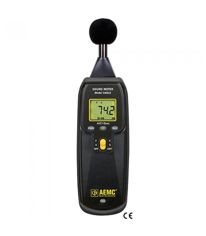 AEMC CA832 [2121.23] Sound Level Meter