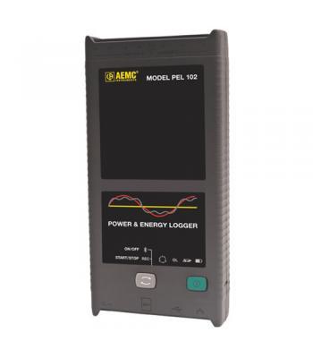 AEMC PEL 102 [2137.51] Single/Three-Phase Power & Energy Logger  (no LCD, w/3 MA193-10-BK sensors)