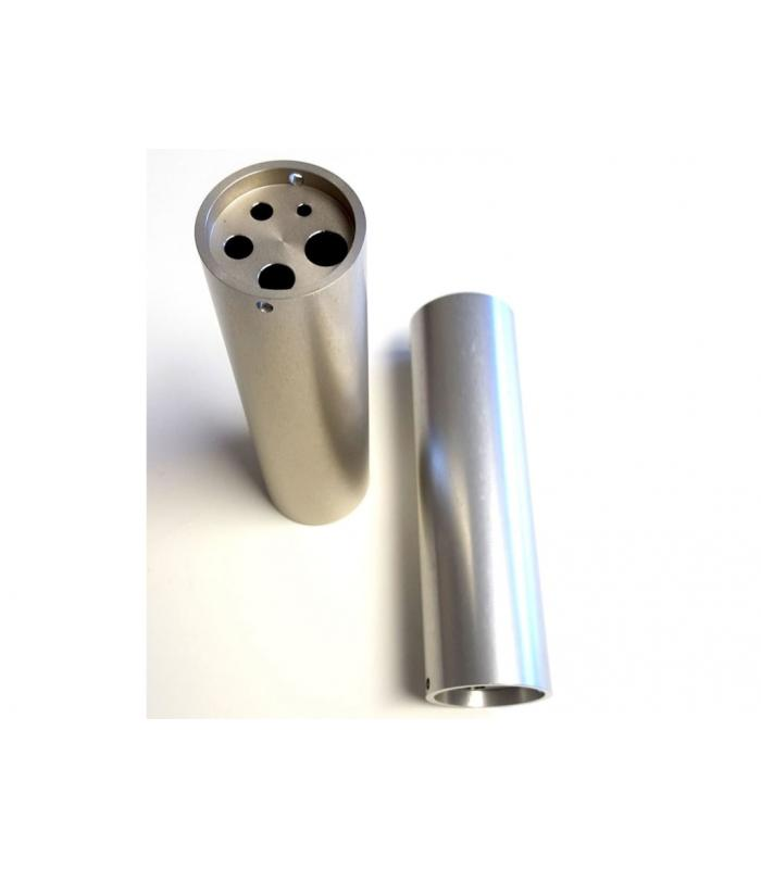 Accurate Thermal Systems ATS3045 [ATS3045] ThermCal400 Inserts, 2 x 1/4 inch & 2 x 1/2 inch diameter wells