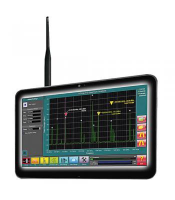 Aaronia RF‐Vue [IWXT10] Tablet-Based RF-Vue RF Spectrum Analyzer 470 MHz - 700 MHz