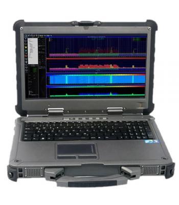 Aaronia Spectran NF-XFR PRO Outdoor EMI Spectrum Analyzer Laptop 1 H - 20 MHz