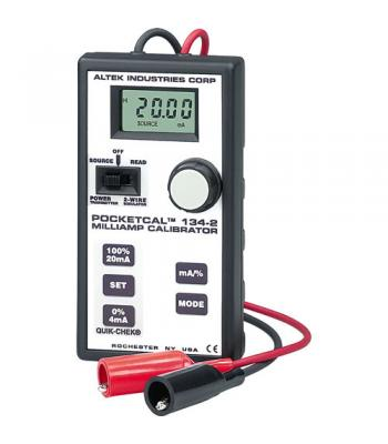 Altek 134-2 PocketCal Milliamp Calibrator