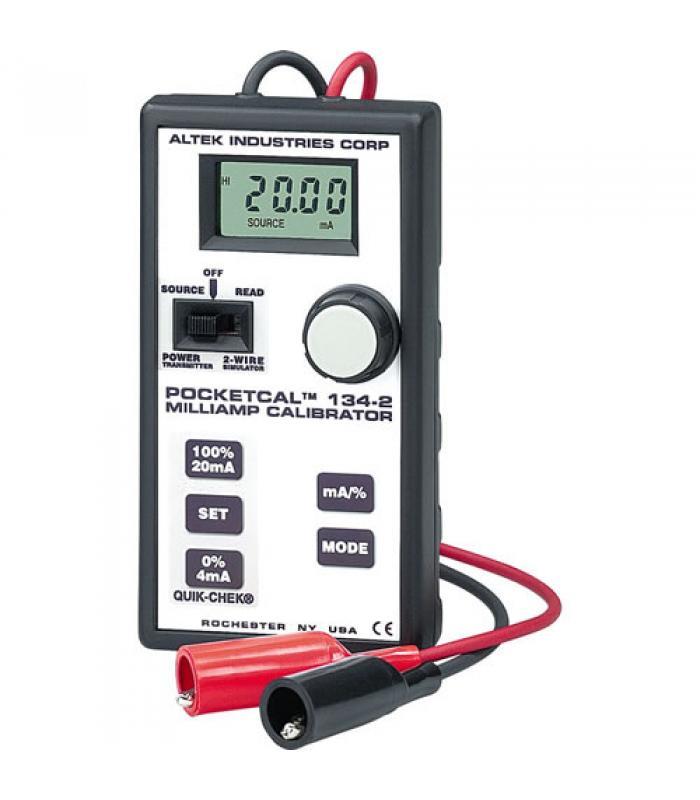 Altek 134-2 PocketCal Milliamp Calibrator