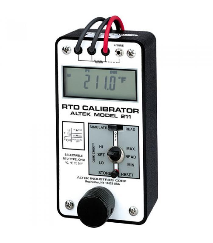 Altek 211 RTD Calibrator