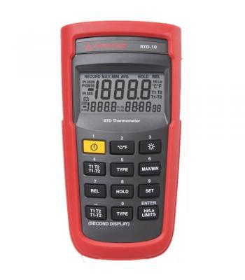 Amprobe RTD-10 [RTD-10] Dual Input Digital RTD Thermometer