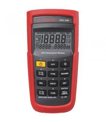 Amprobe RTD10 [RTD-10W] Wireless Dual Input Digital RTD Thermometer