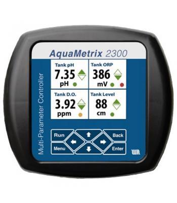 AquaMetrix 2300 [AM-2300-0] Input Controller, 4 Analog & 3 Digital, 4 Relays