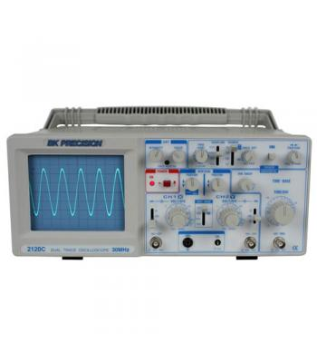 BK Precision 2120C [2120C] 30 MHz Dual Trace Analog Oscilloscope w/ Probes
