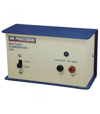 BK Precision 1501 [1501] Single-Output, Dual-Voltage, High-Current Battery Eliminator and DC Power Supply, 1.5V/3A or 3V/3A