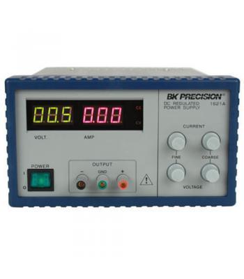 BK Precision 1621A [1621A-220V] Digital Display DC Power Supply, 18V/5A, 220VAC Line Input