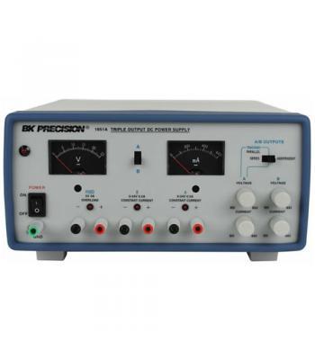 BK Precision 1651A [1651A-220V] Triple-Output DC Power Supply, (2)24V/500mA, (1)5 V/4A, 220VAC Line Input