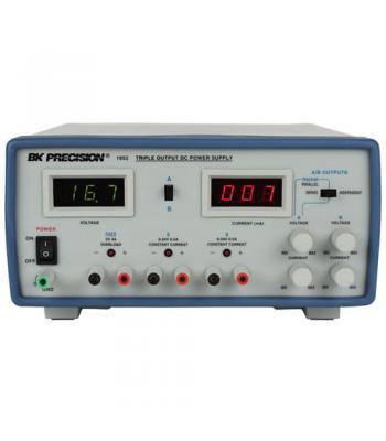 BK Precision 1652A [1652-220V] Triple-Output Digital DC Power Supply, (2)24V/500mA, (1)5V/4A, 220VAC Line Input