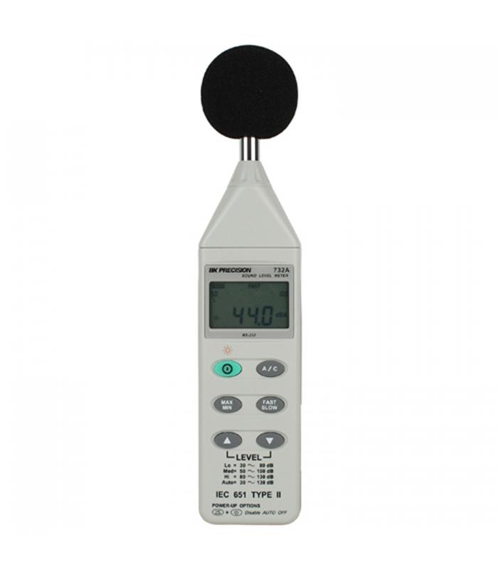 BK Precision 732A [732A] Digital Sound Level Meter w/ RS232 Capability