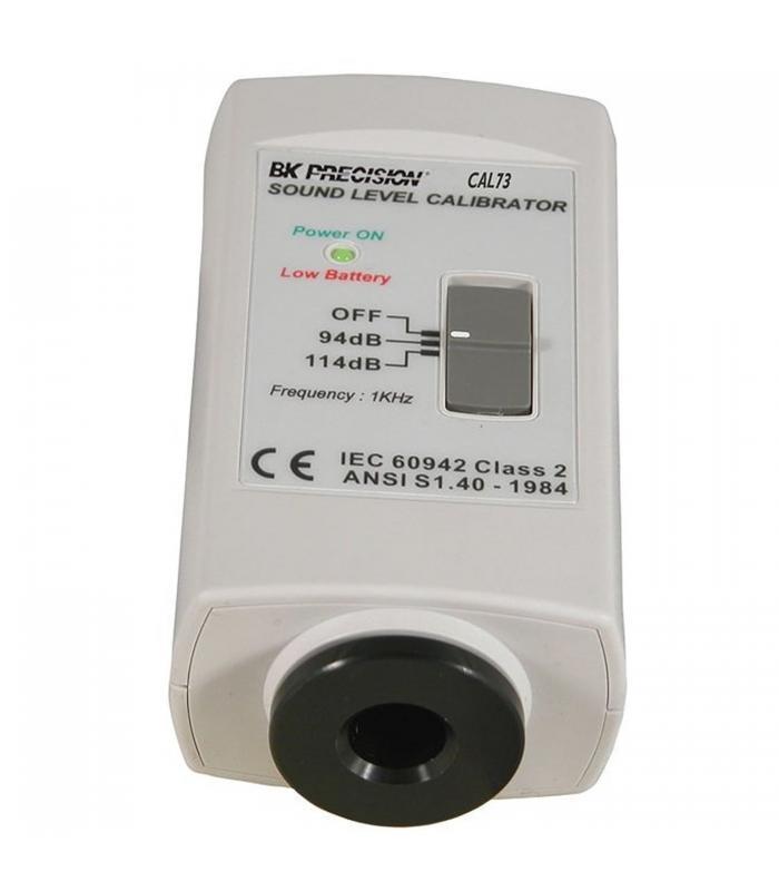 BK Precision CAL73 [CAL73] Standard Acoustic Calibrator (94dB , 1KHz Sine Wave)