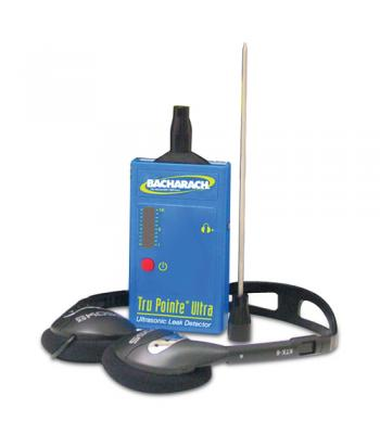 Bacharach Tru Pointe Ultra HD Kit [0028-8011] Leak Detector with Stereo Headphones and SoundBlaster