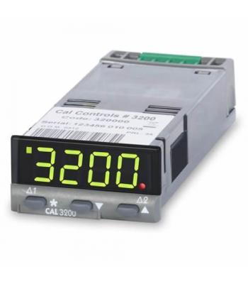 CAL Controls 3200 [320000] 1/32 DIN, PID Temperature Controller, Green LED display, 100-240V AC