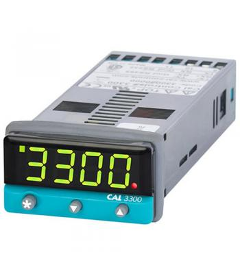 CAL Controls 3300 [330000000] 1/32 DIN, PID Temperature Controlller, SSd / Relay Output, 100-240V AC
