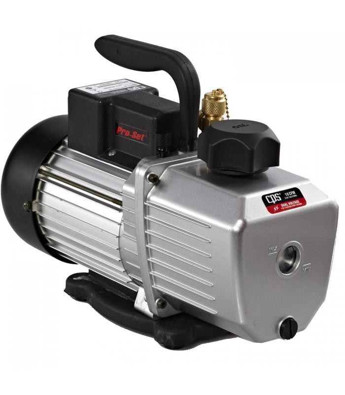 CPS Products Pro-Set [VP10DE] 10 CFM 2 Stage, 220-240V Line Input, Gas Ballast Valve Vacuum Pump