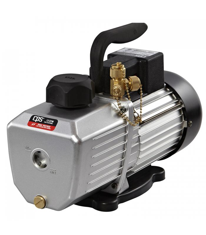 CPS Products Pro-Set [VP12DE] 12 CFM 2 Stage, 220-240V Line Input, Gas Ballast Valve Vacuum Pump