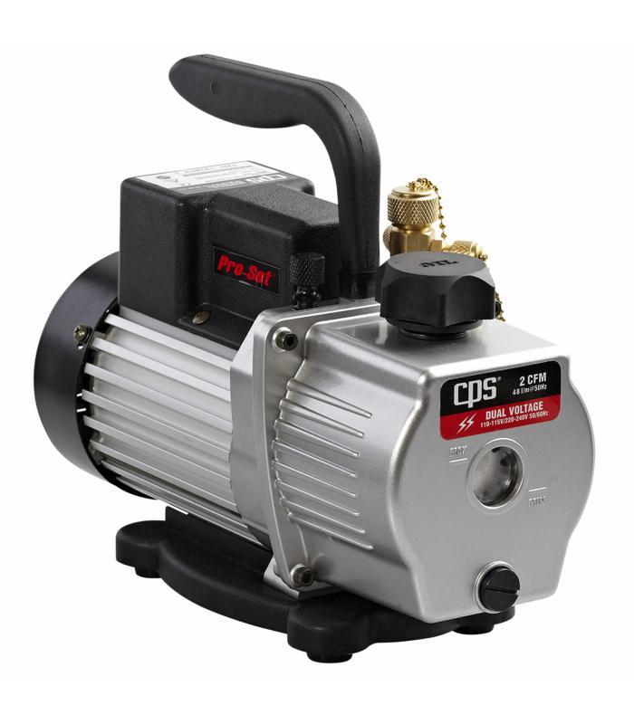 CPS Products Pro-Set [VP2D] 2 CFM 2 Stage, Dual Voltage 115 & 230 Volts Vacuum Pump