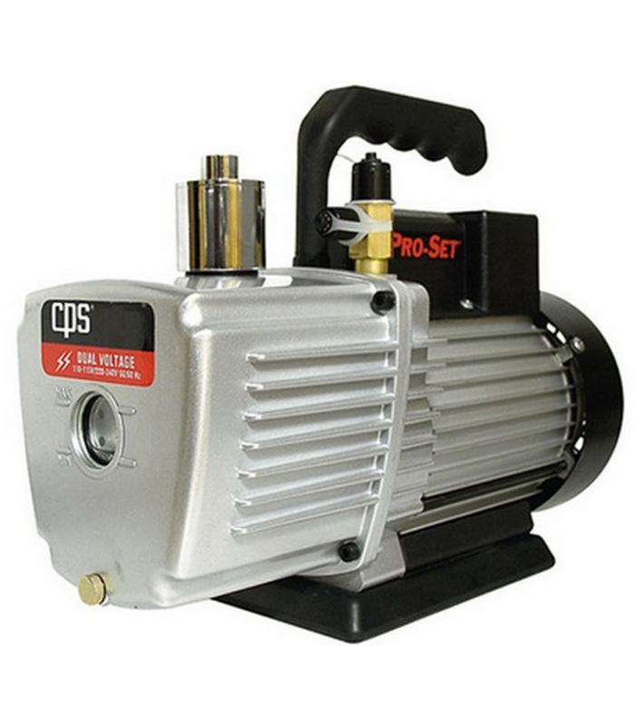 CPS Products Pro-Set [VP2S] 2 CFM 1 Stage, Dual Voltage 115 & 230 Volts Vacuum Pump