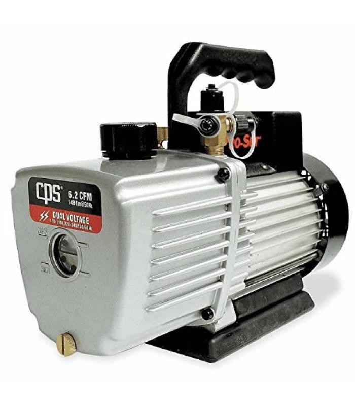 CPS Products Pro-Set [VP8D] 8 CFM 2 Stage, Dual Voltage 110-120V/220V 50/60Hz, Gas Ballast Valve Vacuum Pump