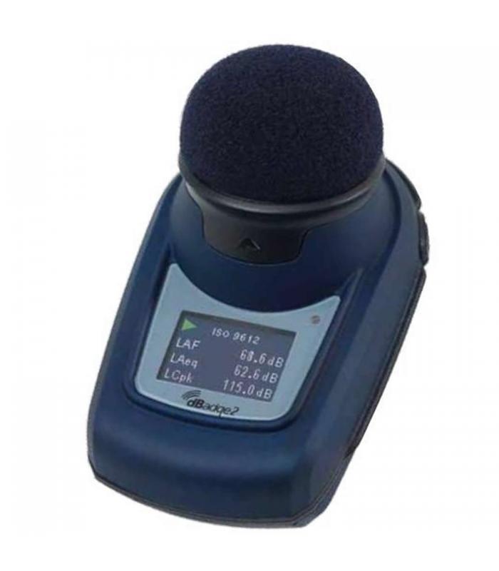 Casella dBadge2 Pro Plus [dBadge2ISPro/K1] Intrinsically Safe Pro Plus Noise Dosimeter Kit