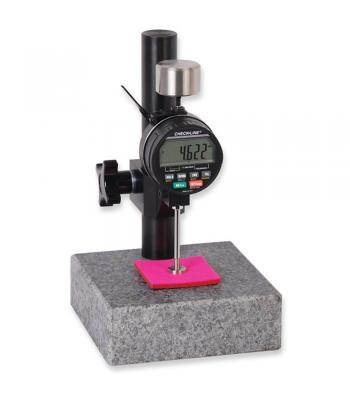 Checkline MTG [MTG-DX2] Digital Thickness Gauge with 9.5 mm Footer and 143g Weight