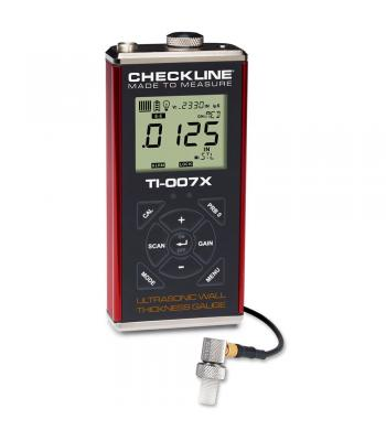 "Checkline TI-007X [TI-007X] Precision Ultrasonic Wall Thickness Gauge, 0.0060"" - 1.000"" (0.150 - 25.40 mm)"