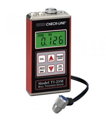 Checkline TI-25M [TI-25M] Ultrasonic Wall Thickness Gauge Complete Kit [DIHENTIKAN] LIHAT TI-25MX