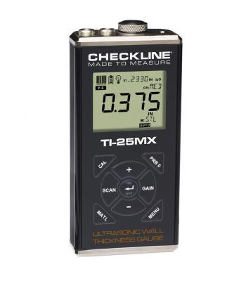 Checkline TI-25MX [TI-25MX-WOP] Ultrasonic Wall Thickness Gauge (No Probe)