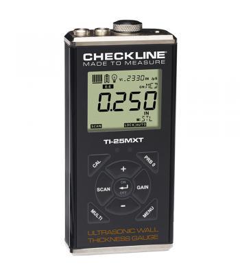 Checkline TI-25MXT [TI-25MXT-WOP] Thru-Paint Ultrasonic Wall Thickness Gauge (No Probe)