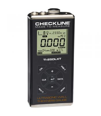 Checkline TI-25DLXT [TI-25DLXT-WOP] Thru-Paint Ultrasonic Wall Thickness Gauge with Data Logging and USB Output (No Probe)