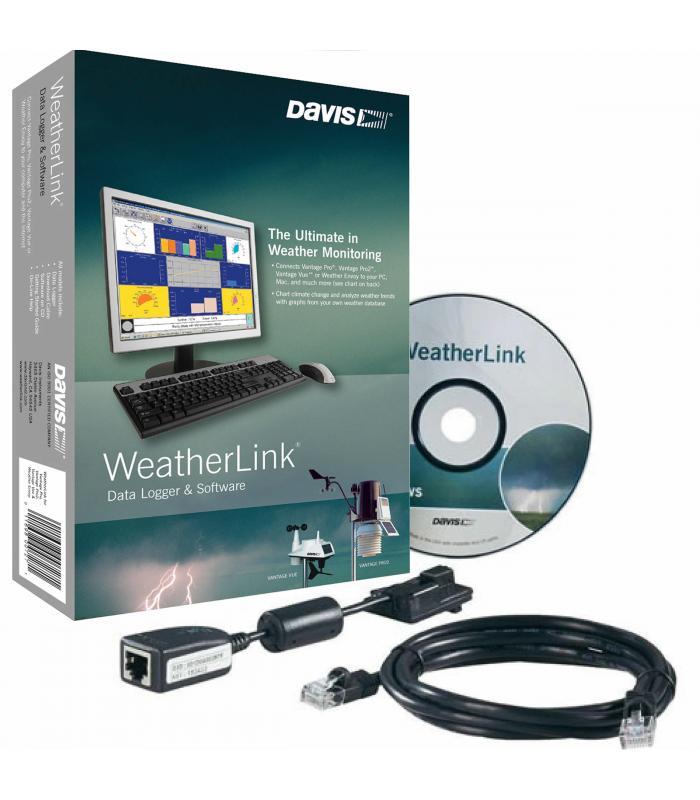 Davis 6510USB USB Data-Logger w/ Windows WeatherLink Software