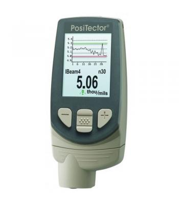 DeFelsko PosiTector 6000-F3 [F3-E] Ferrrous Coating Thickness Gauge with Advanced Display
