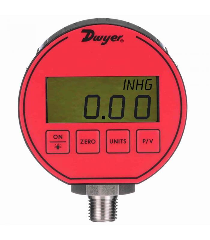 Dwyer DPG [DPG-003] Digital Pressure Gauge, 0.50% Accuracy, 30.00 psi
