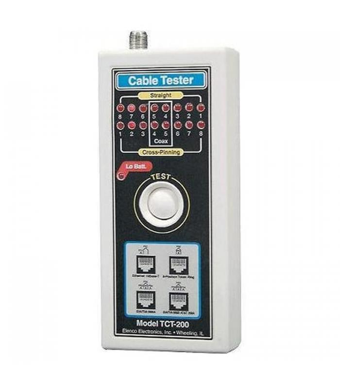 Elenco TCT255K [TCT-255K] Multi-Network Cable Tester (Kit Requires Assembly)