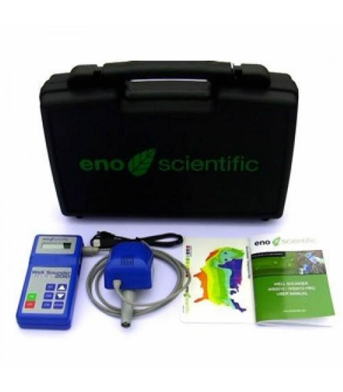 Eno Scientific Well Sounder 2010 PRO [2010P] Portable Sonic Water Level Sensor