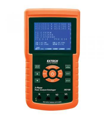 Extech 382100 [382100] 1200A 3-Phase Power Analyzer/Datalogger